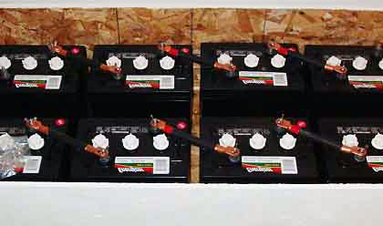 Off-grid battery bank best batteries